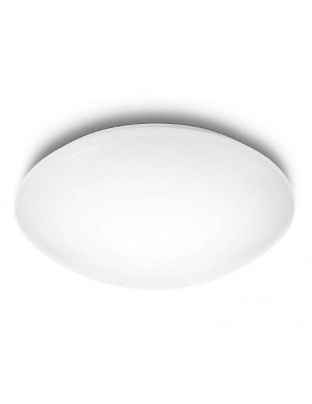 Plafón de techo LED Philips suede para instalar en techo en superficie para interior | LeonLeds Iluminación