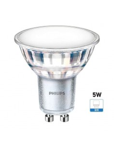 Bombilla LED GU10 Dicroica | Philips GU10 LED Cristal 120º CorePro Led Spot | LeonLeds Iluminación