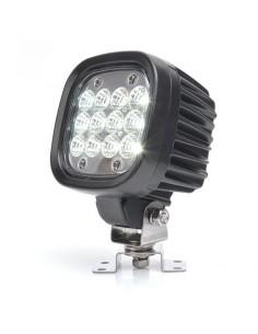 Faro LED de trabajo cuadrado potente de Was | Faro LED para tractor de calidad barato | LeonLeds Iluminación