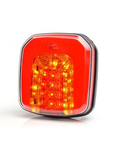 Piloto Trasero LED 3 o 4 funciones pequeño para remolque de coche, remolque agrícola de Was   LeonLeds Iluminación