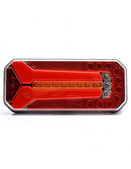 Piloto LED Intermitentes Progresiva Dinámica 12V 24V 7 Funciones Camión Furgoneta | LeonLeds Iluminación
