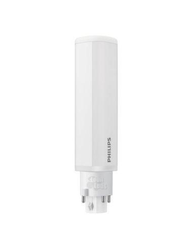 Bombilla LED PL-C 4 PIN 9W Philips 4 Pines sustitución de Bombilla de bajo de consumo de 28W | LeonLeds