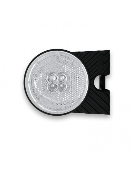 Piloto LED Galibo Lateral Redonodo con soporte Fristom FT-060 LED y Reflectante | LeonLeds