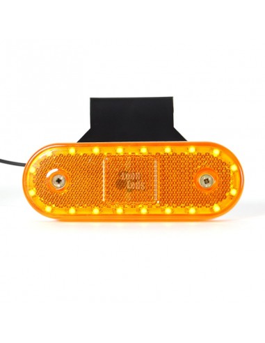 Intermitentes laterales intermitente blanco Izquierda LED