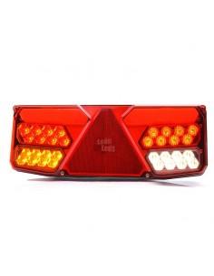 Piloto trasero LED con triangulo no da fallo de bombilla fundida can bus para camion 12V 24v| LeonLeds Iluminación