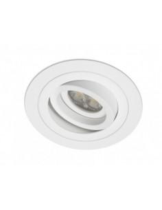 Aro empotrable BPM Mini Catli Blanco Redondo para Bombilla LED GU10 | LeonLeds