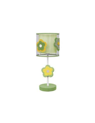 Lámpara Sobremesa Juvenil y Sobremesa Verde Serie Flor Flores | LeonLeds