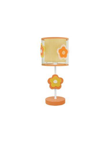 Lámpara de Sobremesa serie Flor Naranja | LeonLeds