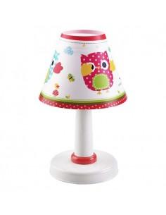 Lámpara de Mesa Infantil Serie Búhos Dalber 21391 redonda con un diseño originales online Baratas   LeonLeds