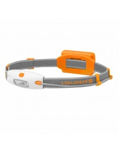 Linterna Frontal de Cabeza Led Lenser Neo Naranja | LeonLeds