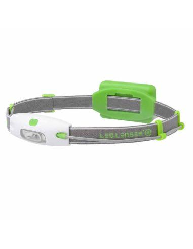 Linterna Frontal Led Lenser Neo Verde de Cabeza | LeonLeds