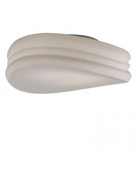 Plafón Aplique 3623 de Techo de Cristal diseño opaco 50Cm de diametro mantra serie mediterraneo Barato Olas   LeonLeds