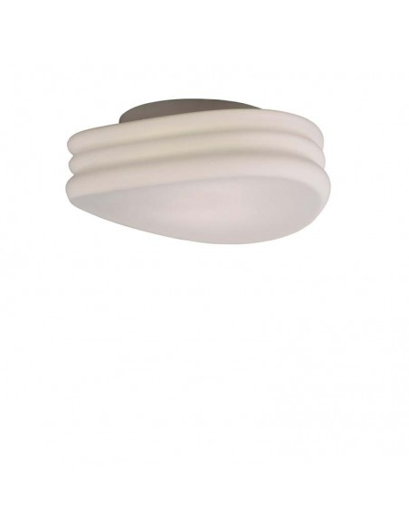 Plafón de techo serie mediterraneo 3624 37Cm de diametro simula olas de mantra Cristal Aplique | LeonLeds Iluminación