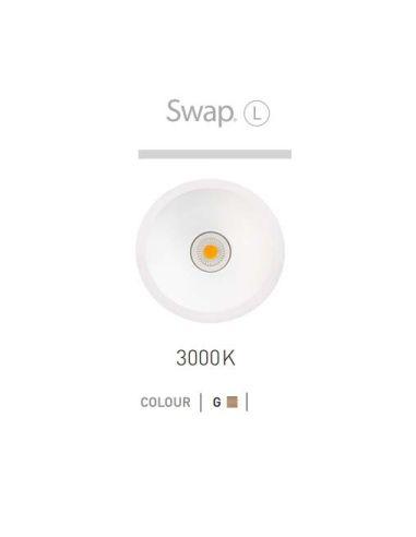 Liquidación Downlight Led SWAP -L 8W Oro- ARKOSLight