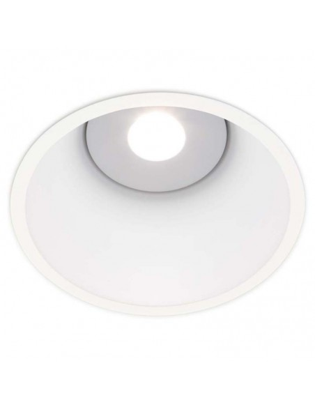 Downlight LED Redondo Empotrable Lex Eco 2 de Arkos Light 18W Blanco Dorado Negro Mate Gris Naranja Rojo | LeonLeds
