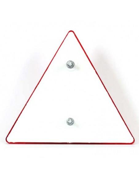 Triangulo reflectante para remolque con tornillo | LeonLeds Reflectantes para Remolques