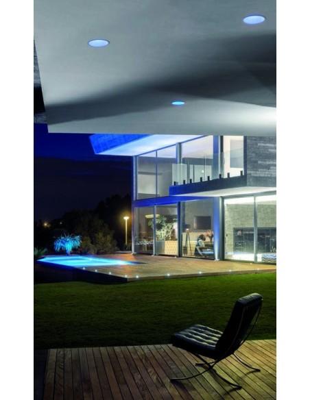 Downlight LED Lex Eco 3 24w Blanco Dorado Negro Gris Rojo Naranja empotrable redondo de diseño | LeonLeds