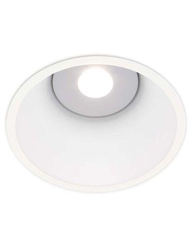 Downlight LED Lex Eco Blue 3 24w redondo blanco Empotrable luz azul apagado de diseño moderno | LeonLeds