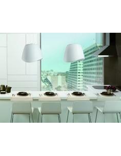 Lámpara de Techo Suspendida colgante serie Cool de mantra 1505 redonda acrilica | LeonLeds