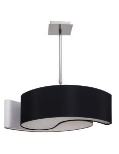 Lámpara de Techo Ying-Yang Grande Blanco/Negro  Lagrimas pequeña | LeonLeds
