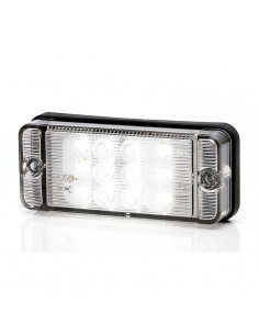 Piloto Macha atrás LED Rectangular 12/24V Homologado Was | LeonLeds