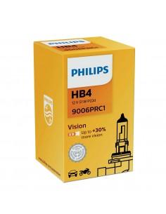 Bombillas Philips HB4 9006 Vision +30% de luz 9006PRC1  | LeonLeds