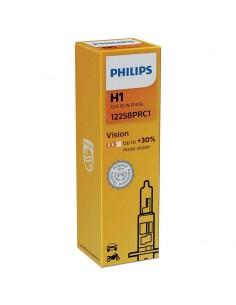Bombilla Philips h1 Vision p14,5s 12258PRC1 +30% mas de luz | LeonLeds
