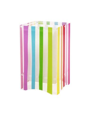 Lámpara de Sobremesa Infantil Dalber serie Decoline 44021 Rayas de colores Cuadrada Dalber | LeonLeds