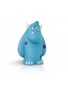 Lámpara Portatil LED Sulley Disney Monstruo de Philips Azul   LeonLeds