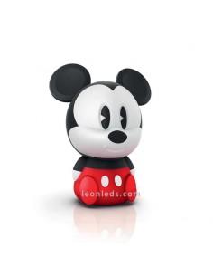 Lámpara Portatil Led Mickey Mouse Disney -Philips- SoftPal   LeonLeds