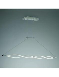 Lámpara de Techo Colgante Suspensión modelo Sahara 4860 Regulable en Altura suspendida LED 36W elegante diseño moderno unico cro