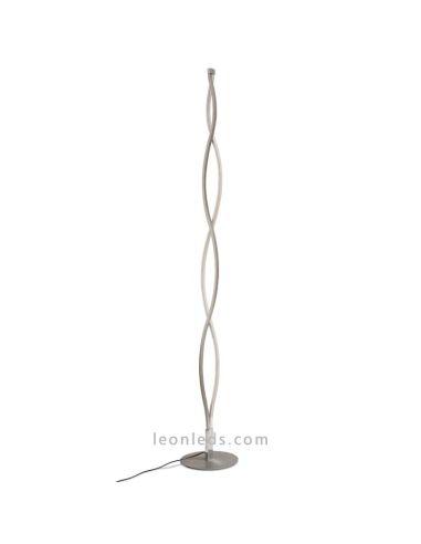 Lámpara Mantra 3000k LED XL Pie de Salón Sáhara de 28W QrtCoxBdsh
