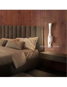 Aplique de Pared LED 6W 3000k Diseño moderno para Dormitorio Interior Barato 4863 Sáhara de Mantra | LeonLeds