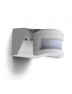 Brazo detector de Movimiento con Tecnología PIR de Brazo pared o techo Válido para Exterior IP55 Valido para LED Esqueme de inst