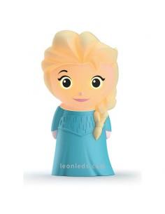 Lámpara Portatil Led Elsa Disney -Philips- SoftPal   LeonLeds
