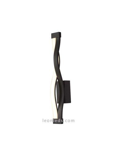 Aplique de Pared LED 6w 3000k Diseño acabado Forja Negra Mate 5816 Sáhara de Mantra Dimmable Intensidad Regulable| LeonLeds