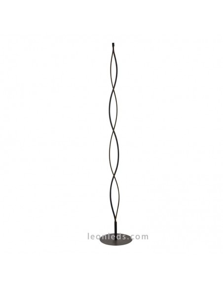 Lámpara de Pie de Salón Dimmable LED 20W Sáhara Forja para Salón Acabado Forja moderna 5401 | LeonLeds