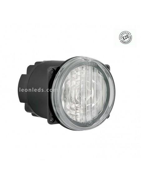 Faro Redondo Ø80 LED -Antiniebla- con conector Homologado E20 | Leonleds
