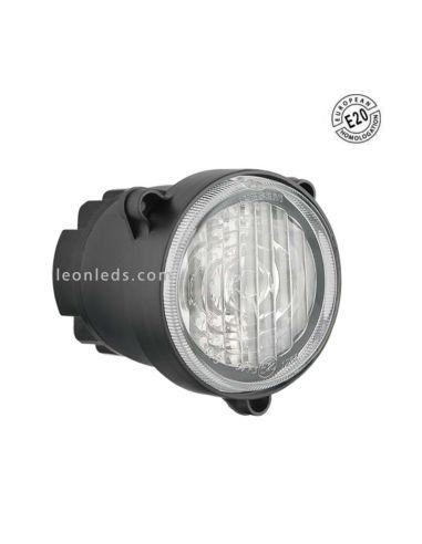 Faro Redondo LED Ø84 -Antiniebla- Con Cable Homologado E20 | LeonLeds