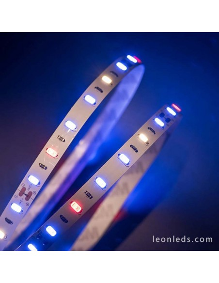 Tira LED especial Crecimiento de Plantas -Vegetativo- 5Metros IP20 | LeonLeds