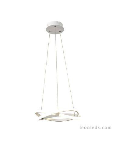 Lámpara de Techo Colgante pequeña de Suspensión Moderna Pequeña Altura regulable Diseño Blanco Infinity de mantra 30W 5993 Dimma
