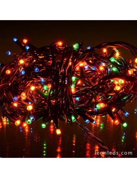 Tira Guirnalda 100 Leds Luz Multicolor -6Metros- Uso Interior | LeonLeds