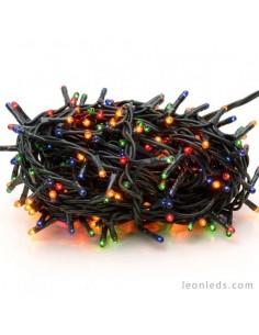 Tira Guirnalda 100 Leds Luz Multicolor -7Metros- Uso Exterior| LeonLeds