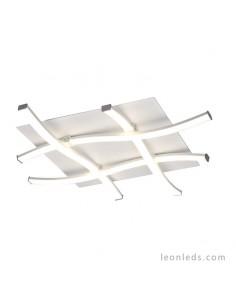 Plafón LED de techo con diseño moderno en acabado color blanco 34w 6004 6004K Dimmable | LeonLeds