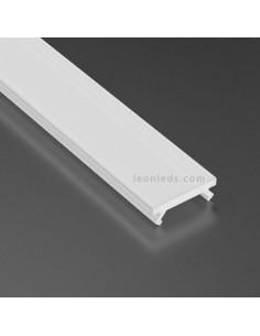 Difusor Opal 2,02m Basic Milky Para Perfil Tipo X   LeonLeds