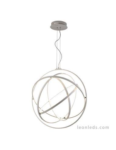 Lámpara de Techo LED Colgante de la serie Orbital de Mantra moderna con intensidad regulable y mando a distancia 5740 | LeonLeds