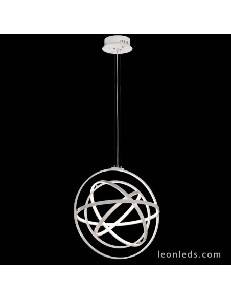 Lámpara de Techo LED de la serie Orbital mediana Mantra moderna con intensidad regulable y mando a distancia 90w | LeonLeds