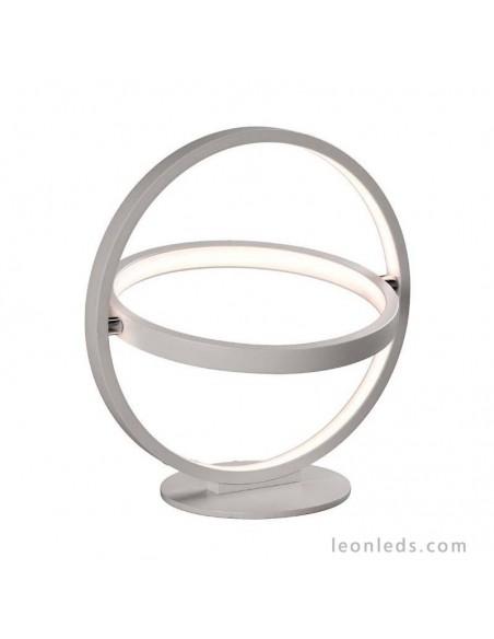 Lámpara de Sobremesa Moderna Vanguardista de la serie Orbital LED Blanca 5747 | LeonLeds
