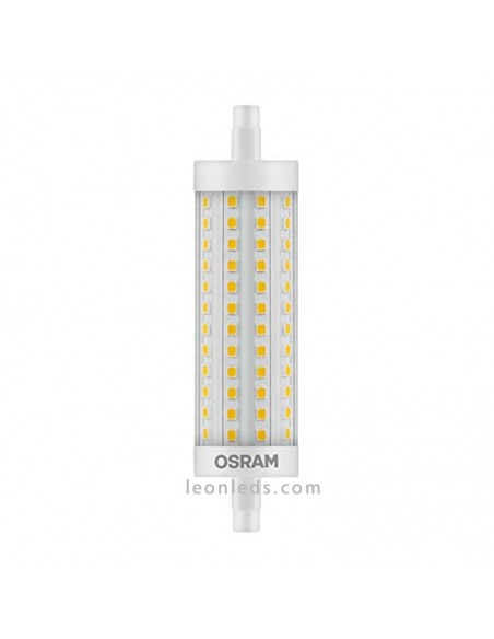 Bombilla Lineal LED R7S 15W-125W 118MM LedVance Osram 125W Dimmable Intensidad Regulable | LeonLeds