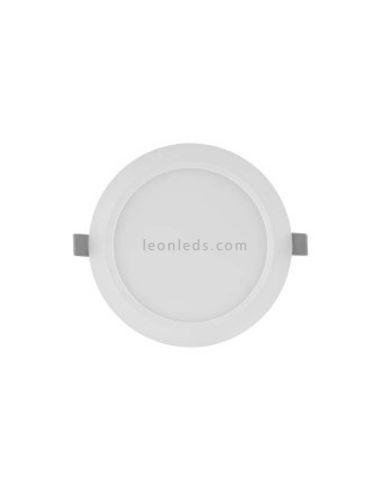 Led Downlight Osram LedVance empotrable redondo 12W Luz Natural 4000K blanco mate barato | LeonLeds